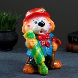 "Копилка ""Собака с конфеткой""  23см цвет микс 1016677"