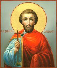 Икона Димитрий Дабудский мученик