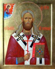Икона Петр Зверев священномученик