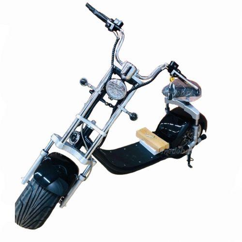 Электроскутер Citycoco Harley Черный 2000W, 20Ah