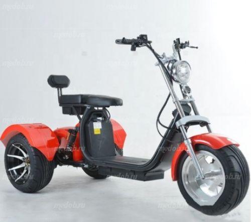 Трицикл Citycoco 2000W, 20Ah