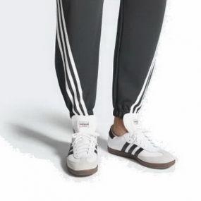 Кроссовки adidas Samba Classic белые с чёрным