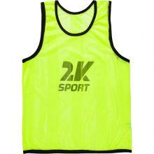 Футбольная манишка 2K Sport Team жёлтая