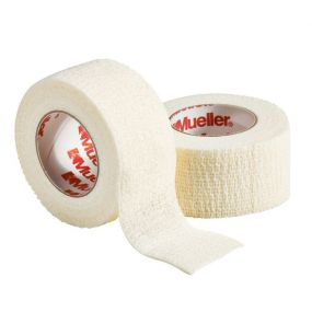 Спортивный тейп Mueller TapeWrap Premium 2,5 см белый
