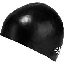 Шапочка для бассейна adidas Silicone Cap Logo 1 Piece чёрная