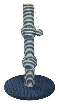 Игровой комплекс-когтеточка Ferribiella Tiragraffi Notte Альбери для кошек 35х35х57см