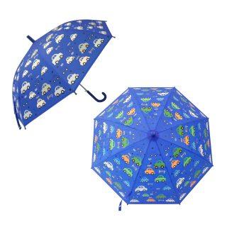 Зонт детский  Машинки, рисунок проявляется, полуавтомат, 48,5см.