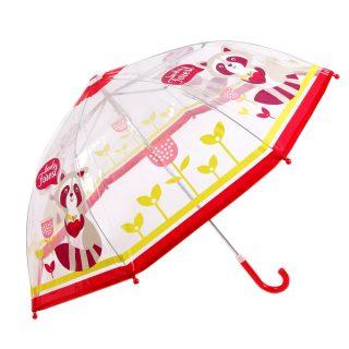 Зонт детский Apple forest, прозрачный,46см, коллекция Cherry