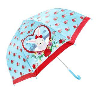 Зонт детский c окошком  Rose Bunny,  46см, коллекция Lady Mary
