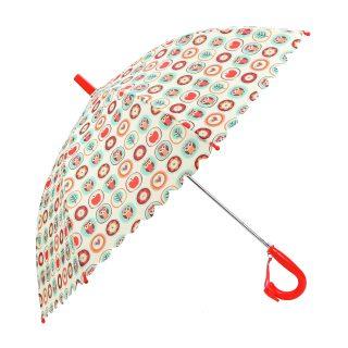 Зонт детский Совушки, 48 см, свисток, полуавтомат