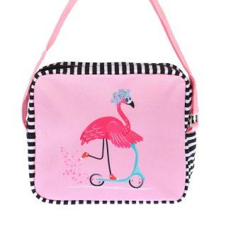 Сумка Фламинго 19*6*16см