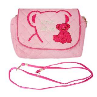 Сумочка  Любимый мишка роз., 13*7,5 см, пакет