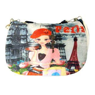 Сумочка Весна в Париже 16*13 см, пакет