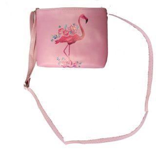 Сумочка Фламинго, 20*16см, пакет