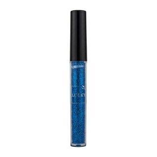 Жидкая подводка для контура глаз, 2 мл, синий с блёстками