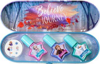 Игровой набор Frozen детской декоративной косметики для ногтей