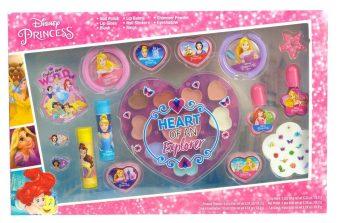 Игровой набор Princess детской декоративной косметики для лица и ногтей