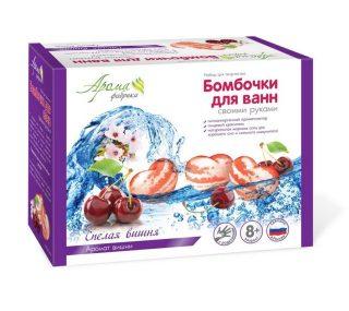 Бомбочки для ванны своими руками Спелая вишня