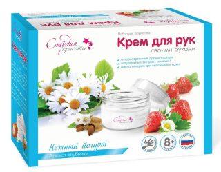 Крем для рук своими руками Нежный йогурт
