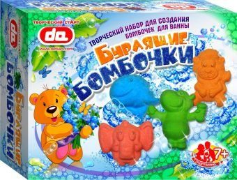 Набор Бурлящие бомбочки для ванны Животные