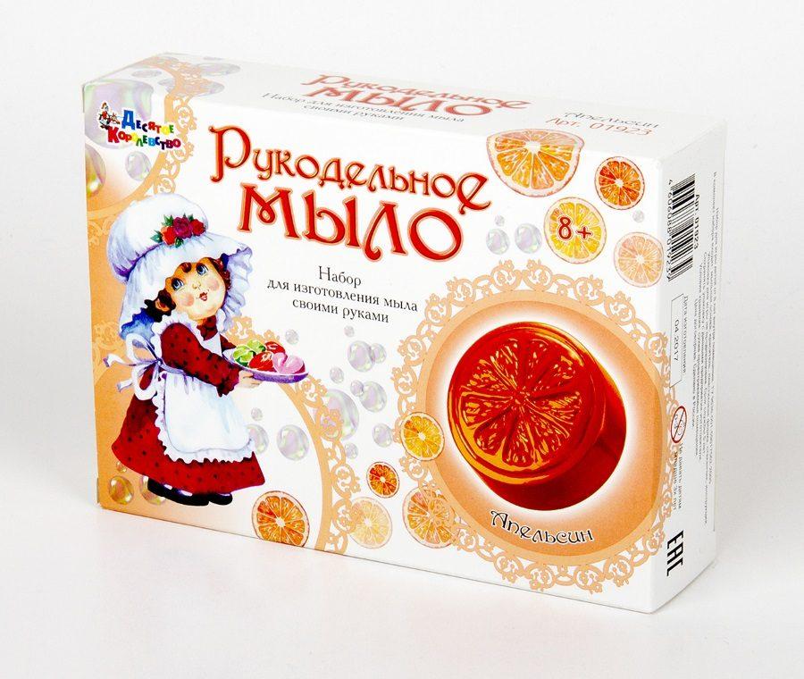 Набор для изготовления мыла Апельсин