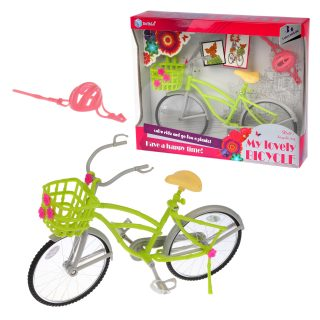 Велосипед для куклы, в компл.3 предм., в ассорт.,  кор.