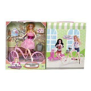 Игровой набор На прогулке, в комплекте кукла шарнирная, предметов 3шт., коробка