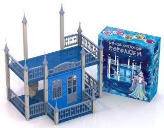 Домик для кукол Замок Снежная Королева