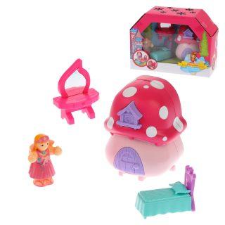 Игровой набор Кукольный домик, в в компл. 4 предм., кор.