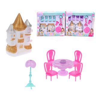 Игровой набор Кукольный домик, в в компл. 8 предм., в ассорт., кор.