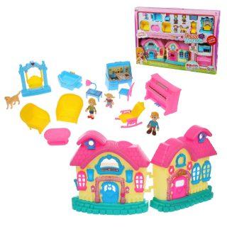 Игровой набор Кукольный домик, в компл. 16предм., кор.