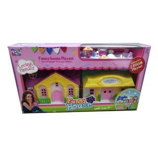 Игровой набор Кукольный домик, в компл.18предм., кор.