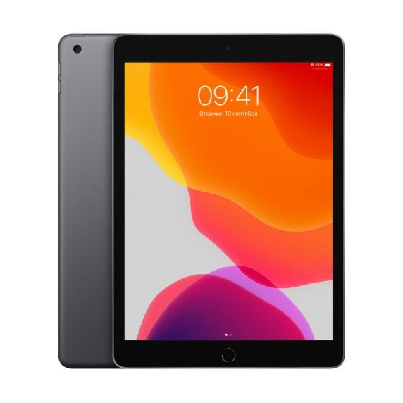 Apple iPad 10.2 Wi-Fi + Cellular 32 ГБ «Серый космос»