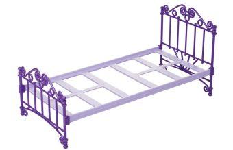Кроватка фиолетовая без п/п