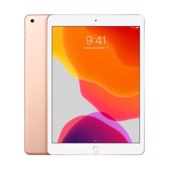 Apple iPad 10.2 Wi-Fi + Cellular 128 ГБ Золотой