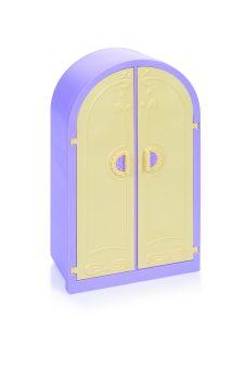 Шкаф Маленькая принцесса (светло-сиреневый)