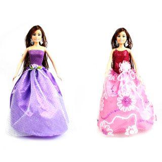 Платье  Нарядное д/кукол 29 см, в ассорт., пакет