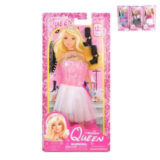 Платье Королевское для куклы 29 см  с аксесс. 1-2 предм., в ассорт., блистер