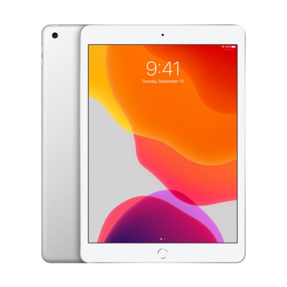Apple iPad 10.2 Wi-Fi + Cellular 128ГБ Серебристый