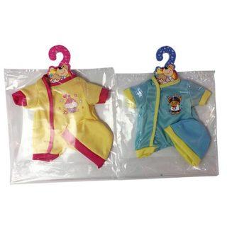 Комплект одежды Детка д/куклы 35см, 2 предм., в ассорт., пакет.
