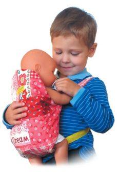 Рюкзачок-Кенгуру для куклы в асс-те