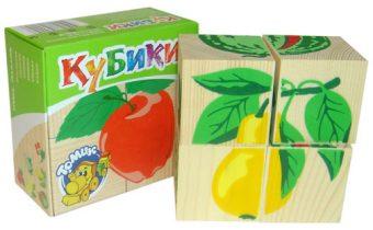 Куб.4 Фрукты-ягоды