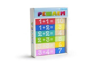 Набор Логический игровой Учимся играя Решаем 36 дет.