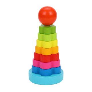 """Пирамидка """"Цветочек"""": : 13,5 см"""