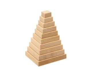 Пирамидка Квадрат, 100х60х60 мм.