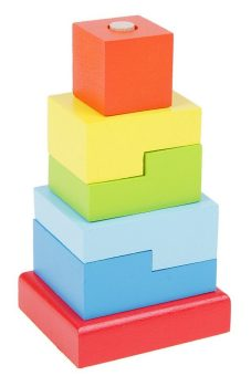 Пирамидка Ступеньки 6 дет.
