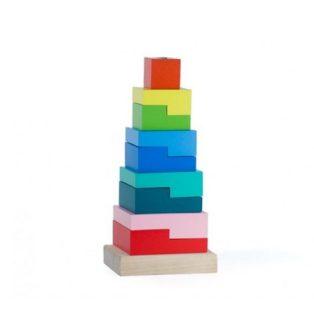 Пирамидка Ступеньки 9 дет.