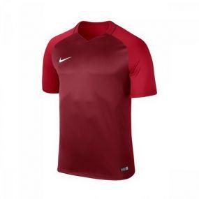 Детская игровая футболка с коротким рукавом Nike Trophy III бордовая с красным