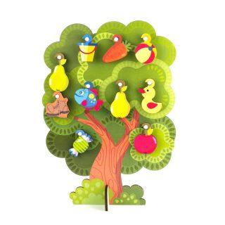 Сортер-дерево, Что на дереве растет