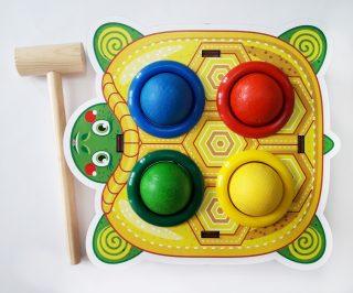 Стучалка цветная Черепаха